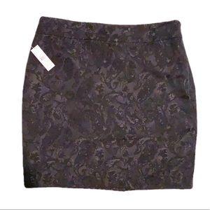 Lord & Taylor   Damask Pencil Skirt